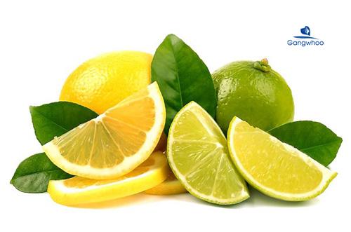 Điều trị sẹo rỗ bằng vitamin E và chanh