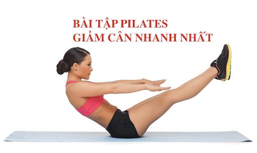 9 Bài Tập Pilates Giảm Cân Hiệu Quả Tại Nhà