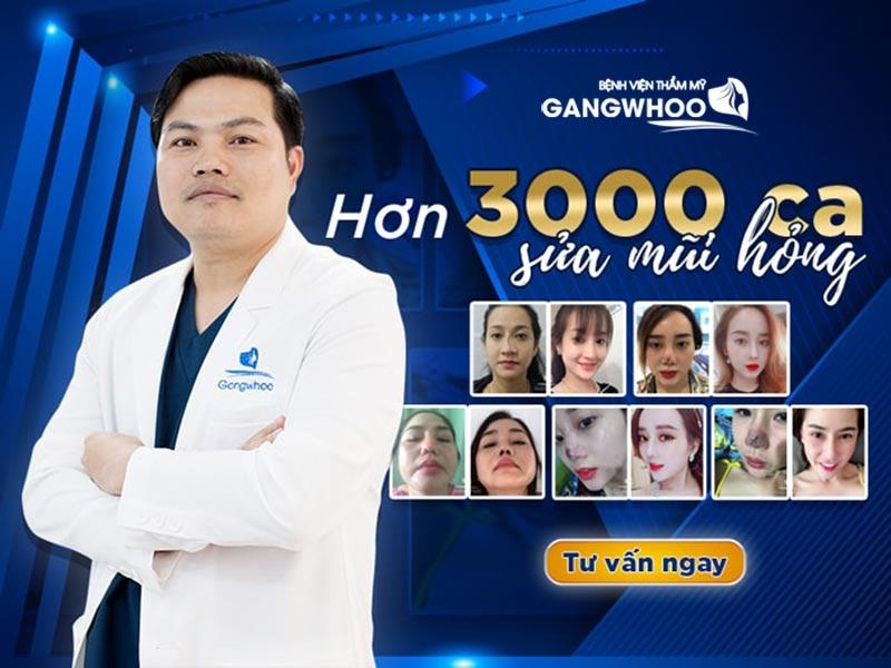 Bác sĩ sửa mũi hỏng hàng đầu tại Việt Nam