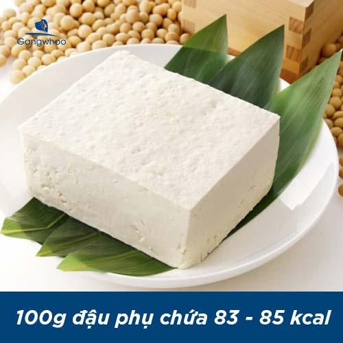 100g đậu phụ bao nhiêu calo? Có khoảng 83 - 85 Kcal