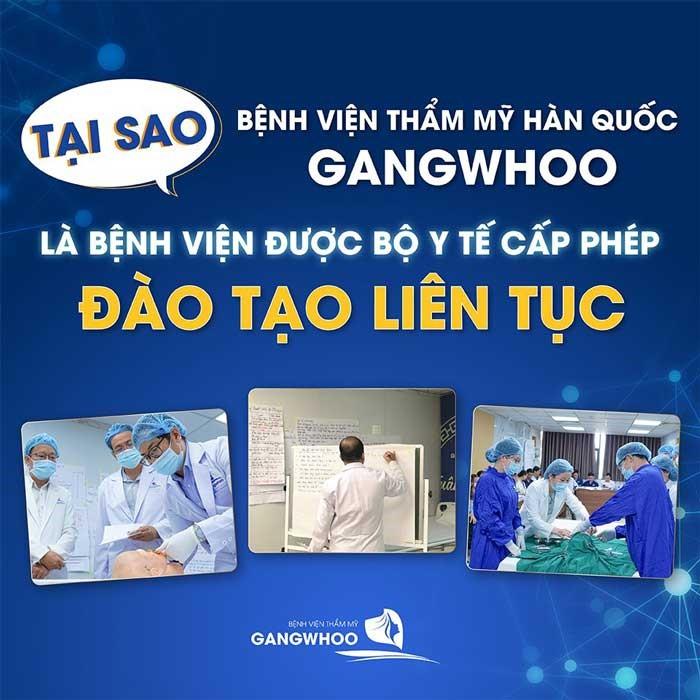 Địa Chỉ Đào Tạo Liên Tục Gangwhoo Uy Tín Tại TPHCM